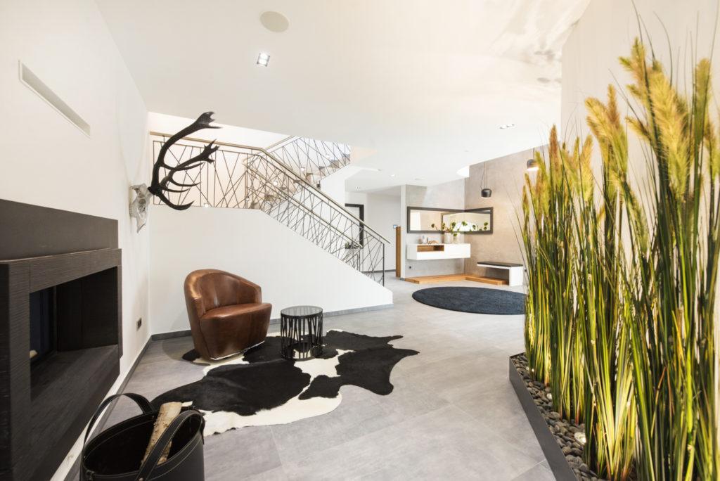 Repräsentativer Eingangsbereich einer Villa - Exklusives Entree