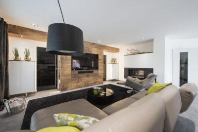Exklusiver Wohnraum mit integrierter Weinlagerung