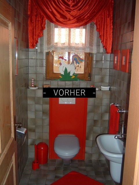 Gäste-WC Renovierung - Einrichtungsplanung und Raumgestaltung ...