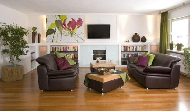 Wohnen mit pfiffiger TV-Lösung